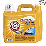 Arm & Hammer 33200-00106 Dual HE Liquid Laundry Detergent Clean Burst 210 oz (Pack of 2) (2 PACKS OF 2)