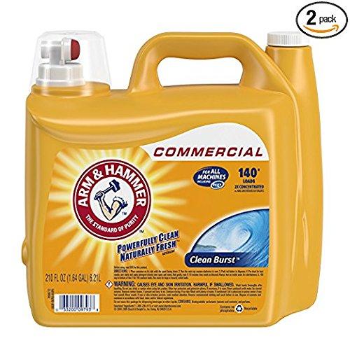 210 oz. Clean Burst Liquid Laundry Detergent, 2 Pack
