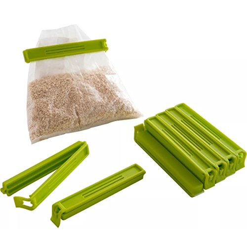 Prendedor Para Sacolas G 12UN Verde