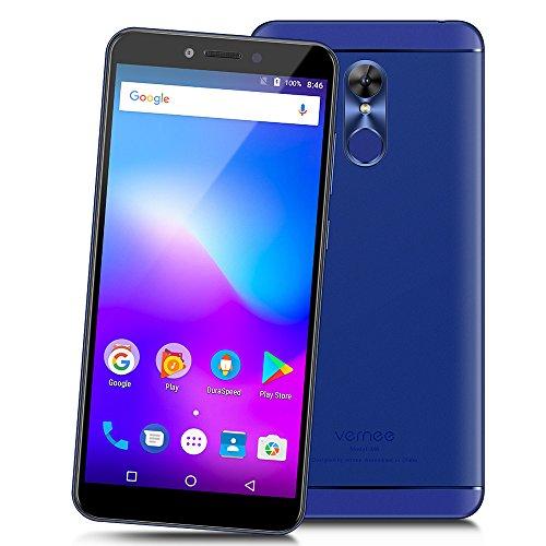 Vernee M6 - 4G LTE Smartphone 5.7 pulgadas de Pantalla Completa 18: 9 Ratio Octa-core 4GB RAM +64 GB ROM 3000mAh Android 7.0 Cámaras Duales 16.0MP + 8.0MP Cuerpo Ultra Delgado WIFI de Huella Digital GPS