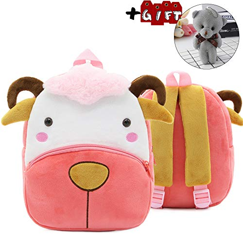 Backpack for Toddler Boys, Toddler Bookbag Girl Dinosaur Toys Bags(Sheep) ()