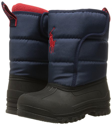 Polo Ralph Lauren Kids Boys' 993532 Snow Boot, Navy, 10 M US Toddler by Polo Ralph Lauren (Image #6)