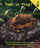 Early Reader: Toad or Frog?