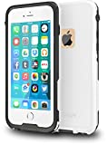 CellEver iPhone 6 / 6s Case Waterproof Shockproof IP68 Certified SandProof Snowproof Full
