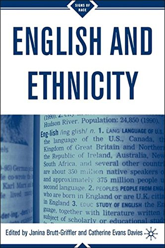 English and Ethnicity (Signs of Race)