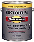 Rustoleum Professional 242258 1 Gl Safety Yellow High Perf Protective Enamel Low VOC