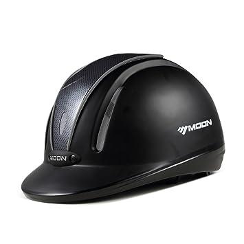 unistrengh Equestrian rendimiento casco ajustable transpirable para Gorra de equitación cómodo ligero cascos de equitación Ligero