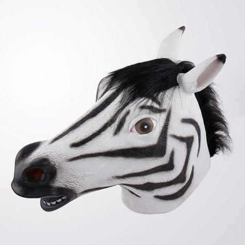 Gmask Latex Deluxe Zebra Mask