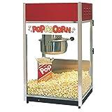 ''Ultra'' 60 Popper Popcorn Machine, 18''W x 16''D x 31''H, 6 ounce E-Z Kleen kettle, twin arm doubl...