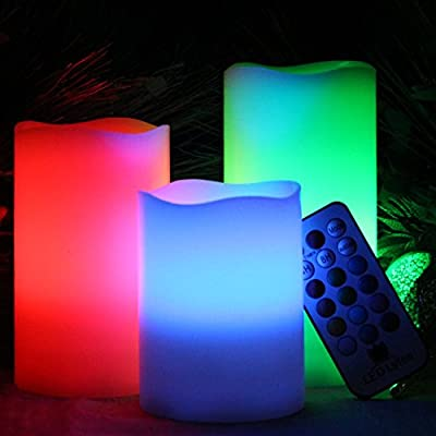 LED Lytes Multi-Color Flameless LED Candles