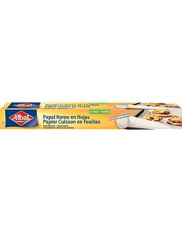 Albal Hojas de papel vegetal para horno, antiadherente, impermeable, 16 unidades, 42