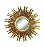 Cheap Creative Co-op DE4704 Gold Sunburst Mirror