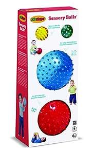 Edushape Sensory Ball Mega, Colors May Vary, 4 Count
