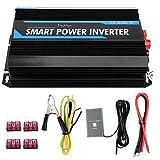 Power Inverter Car Inverter, 6000W 12V to 220V Pure