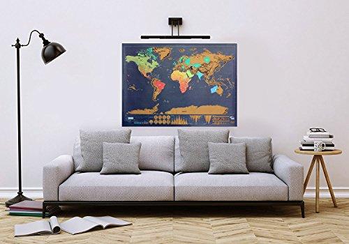 World Scratch Map - 4
