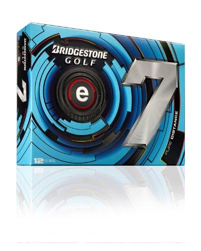 Bridgestone Golf 2013 e7 Golf Balls (Pack of 12), White, Outdoor Stuffs