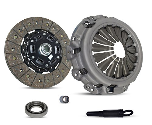 Clutch Kit Works With Nissan 350Z Infiniti G35 Base Journey Sport X Enthusiast Grand Touring 2003-2007 3.5L V6 GAS DOHC Naturally Aspirated (VQ35DE; 6 Speed)