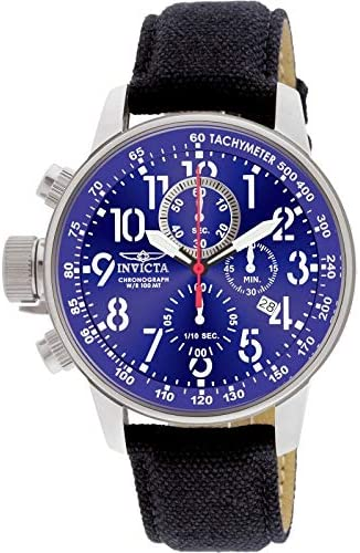 Invicta Men s 1513 I Force Collection Stainless Steel and Cloth Watch