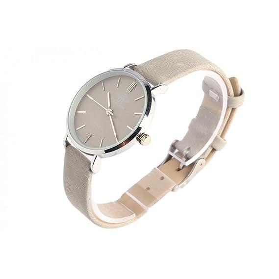 Reloj mujer gris caja plata Ona Michael John – Mujer