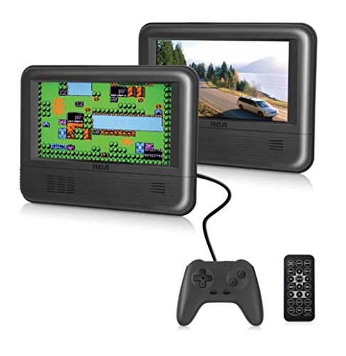 (RCA Dual Screen Portable DVD Player & Game Pad System - Set of Two 7