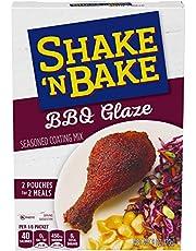 Shake 'N Bake BBQ Glaze Seasoned Coating Mix (6 oz Boxes, Pack of 8)