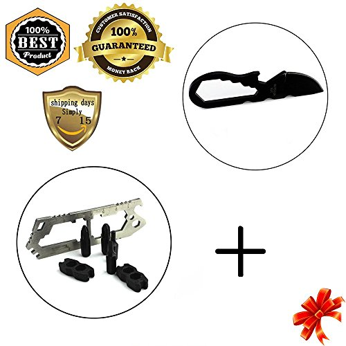 Meanhoo Multi-function Flathead Phillips Screwdriver Set Pocket Tool Keychain Keychain Sets & Combination of Gadgets Mini Tool Knife Tools - Own Your Oakleys Create