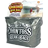 Driveway Games All Weather Corntoss Bean Bags Grey