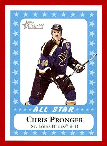 2000-01 Topps Heritage #222 Chris Pronger ST. LOUIS BLUES
