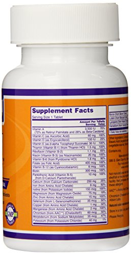 Now Daily Multi Tablets, 100-Count