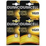 4 x Duracell CR1620 DL1620 ECR1620 3V Lithium Button Battery Coin Cell Batteries