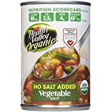 Health Valley Organic Vegetable Soup, No Salt, 15 oz