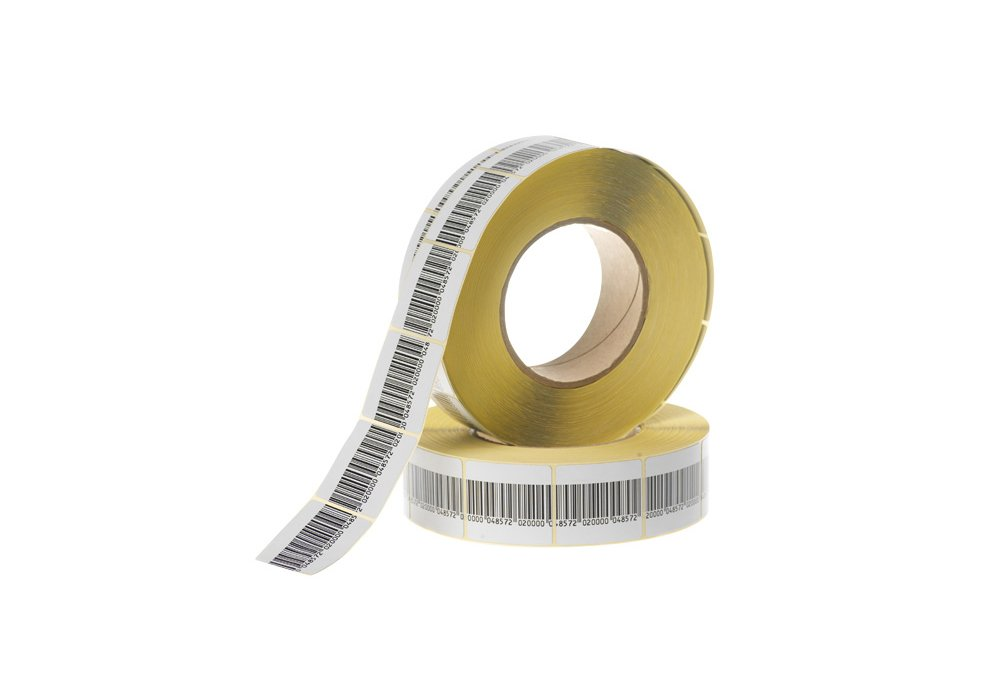 Checkpoint Compatible 1.5' RF Labels Barcode Style 1,000-Roll NEW ALL-TAG 4D8BC 1K