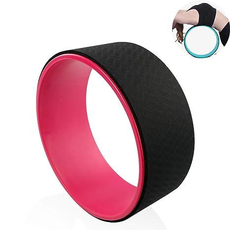 CWDXD Rueda Yoga para Rueda de Yoga Pilates Rodillo ...
