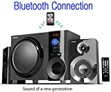 Boytone BT-210FB Wireless Bluetooth Stereo Audio Speaker with Powerful Sound, Bass System, Excellent