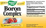 Nature's Way Boron Complex, 100 Capsules (Pack of 3)