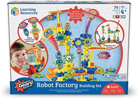 Learning Resources Gears Gears Gears!® Roboterfabrik-Bausatz
