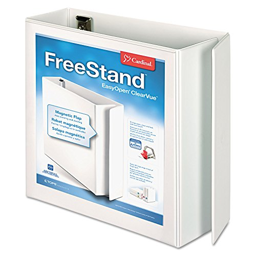 CRD43140CB - Cardinal FreeStand Easy Open Binder with Locking Slant-D Shape Ring ()