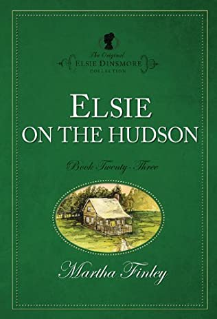 book cover of Elsie On the Hudson