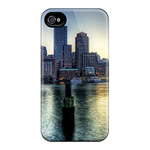 popular case Case For iphone 6 plus 5.5 With Nice Boston At Dusk Hdr Appearance