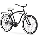 sixthreezero Around The Block Men's Beach Cruiser Bicycle OR eBike 250W and 500W Electric Bike, 24-Inch and 26-Inch