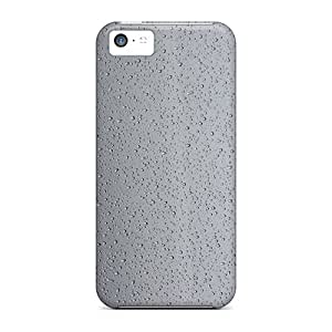 High-quality Durable Protection Case For Iphone 5c(water Droplets On Glass)