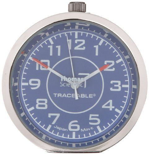 Thomas 1003 Traceable Stick-It Mini Clock, 1-19/32