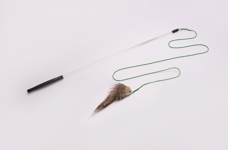 Neko Flies - Small Kittenator with Rod - Interchangeable Toy