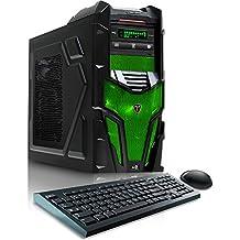CybertronPC Shockwave X6-9600 Green Gaming Desktop -AMD FX-6300, 16GB DDR3, NVIDIA GTX960, Microsoft Windows 10