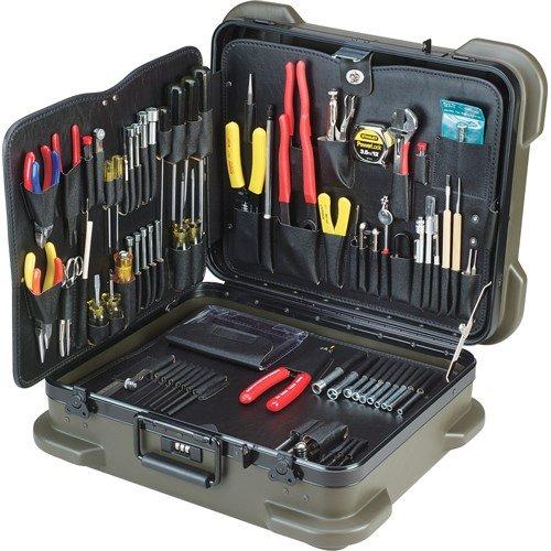 Jensen Tools - JTK-87RIM - Inch/Metric Kit in Rugged Duty Poly Case