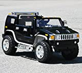 Lisensed Hummer Black Battery Operated Ride on Car Toy with Remote Control 12v .Model 2016.