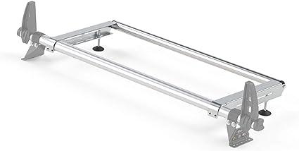 Rhino Delta Barra Sistema de rodillo de escalera de acero trasero para Renault Master (98 – 10) [H2]: Amazon.es: Coche y moto