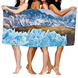 Suniy Chile Patagonia Glacier Polyester Cotton Beach Towel 80x130cm Swimmer Quick Dry Towel