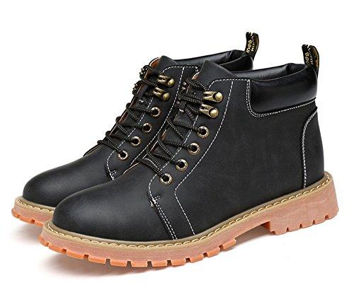 TMKOO 2017 nuove scarpe casual da uomo Martin in pelle scarpe da uomo moda scarpe di tendenza britannici scarpe da uomo alto retr