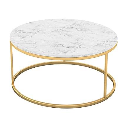 Table Basse de Salon/Table Basse Ronde, Dessus de Table en ...